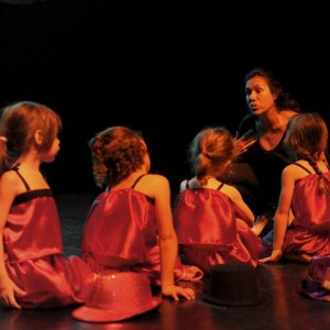 Enfants aux cours de Zumba Danse à Vincennes à l'association Ludodanse