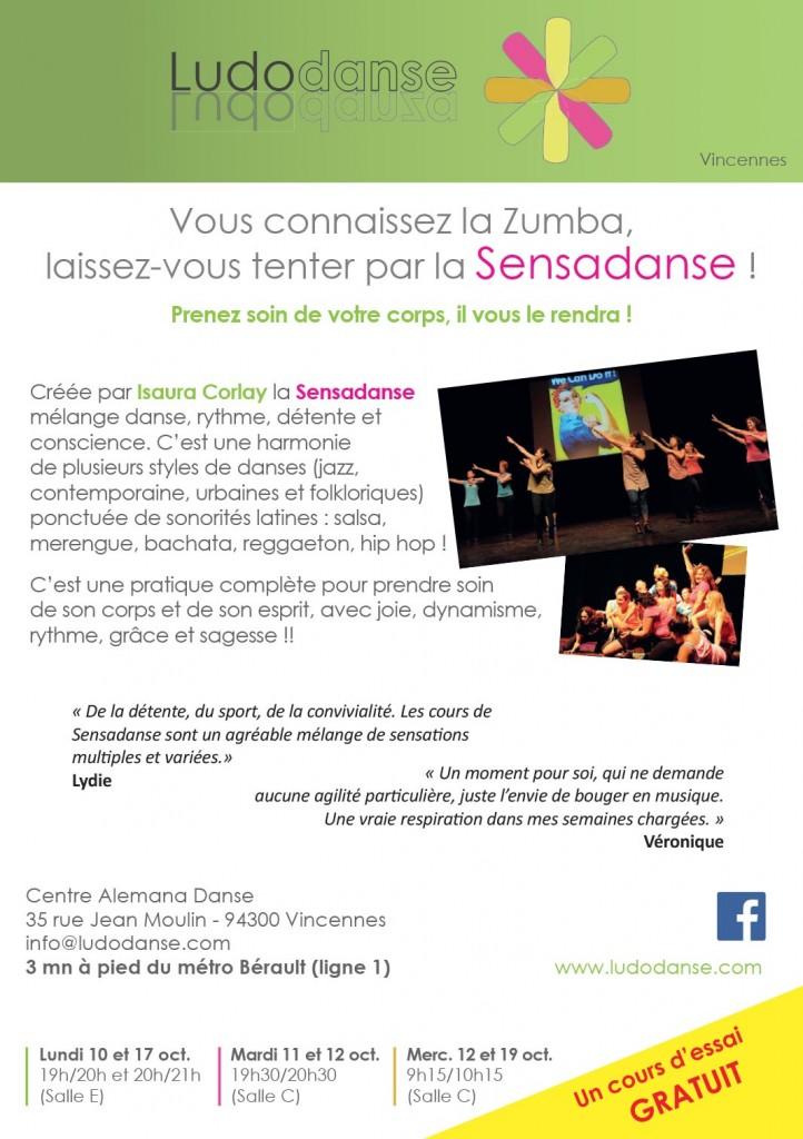 Laissez-vous tenter par la Sensadanse à Vincennes